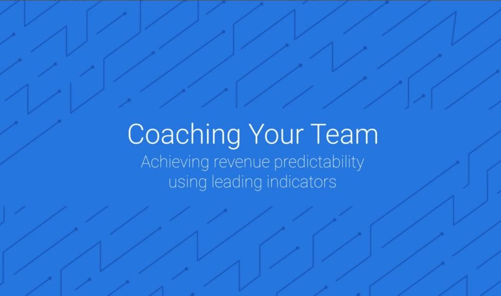 Data-driven Coaching